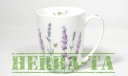 Kubek Lavender Fine Bone China